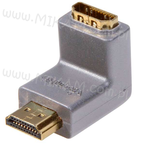 Adapter K�towy HDMI 1080p Wtyk Full HD VIVANCO