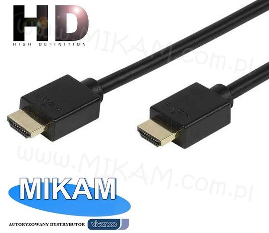 Kabel przew�d HDMI 10m 1.4 3D ARC 4K FHD 24K VIVANCO